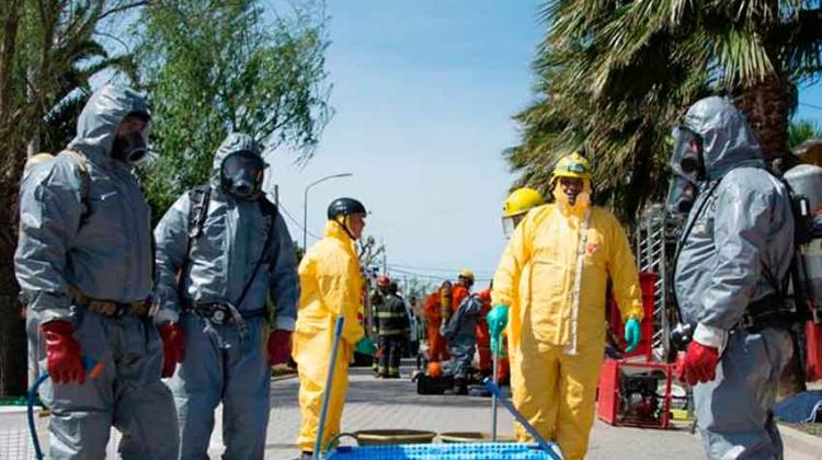 Bomberos en Antioquia se capacitan con expertos de Brasil
