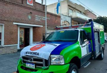 Bomberos de Necochea recibió una autobomba