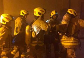 Suspendieron a seis bomberos del cuartel de Petión