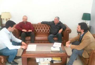 Representantes de la Federación se reunieron con el presidente del IPV