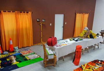 Bomberos Voluntarios de Villa Huidobro adquirió equipamiento