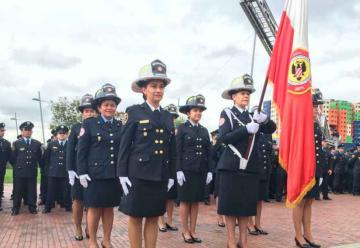 Bomberos Bogotá cumplió 123 años al servicio de la ciudad