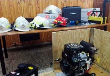 Bomberos Voluntarios de Gálvez adquirió nuevo equipamiento