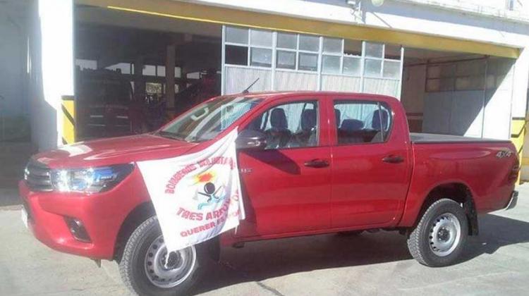 Nueva unidad para los Bomberos Voluntariosde Tres Arroyos