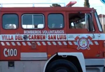 El cuerpo de Bomberos de Villa del Carmen ya tienen su autobomba