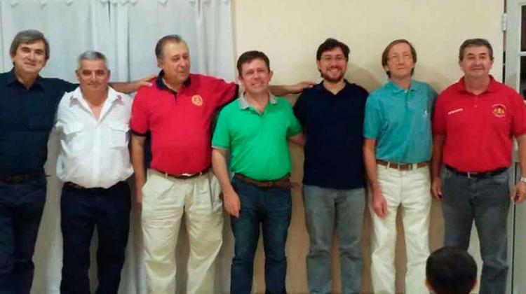 Nuevas autoridades en laFederación Entrerriana de Bomberos Voluntarios
