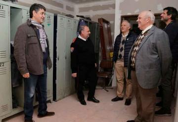 Entregan un subsidio a los Bomberos de Vicente López