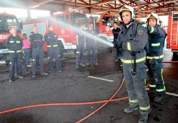 172 personas aspiran a ocupar las plazas nuevas de bombero de Badajoz