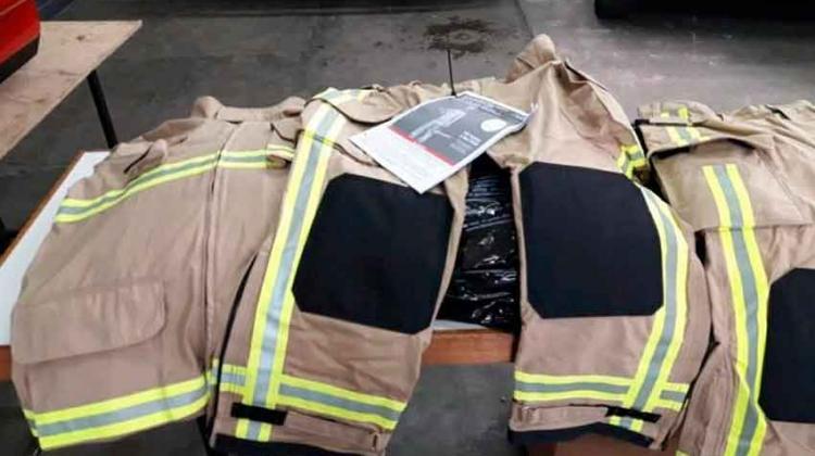 Bomberos incorporan insumos y nueva ropa de trabajo
