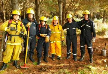Curso sobre incendios forestales en Santa Teresita