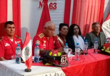 Crean comandancia departamental de bomberos de Ayacucho