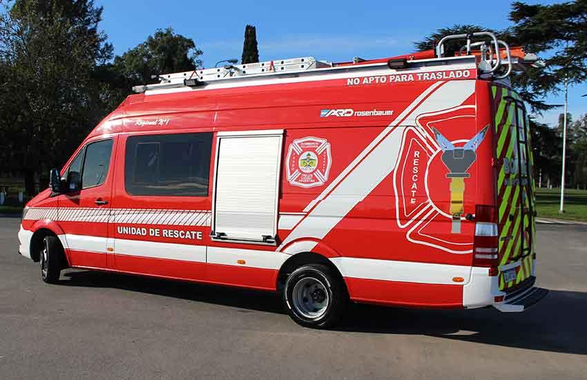 Nueva Unidad para Bomberos Voluntarios de Trelew