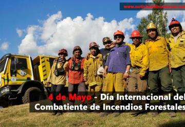 Día Internacional del Combatiente de Incendios Forestales
