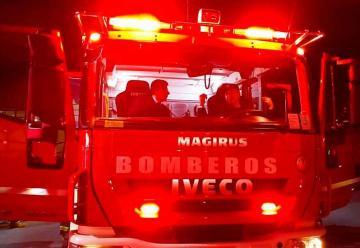 Bomberos de Santa Juana recibieron un carro para incendios forestales