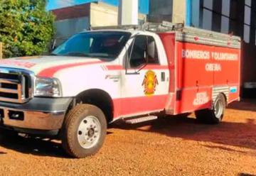 Un vehiculo nuevo paraBomberos Voluntarios de Obera
