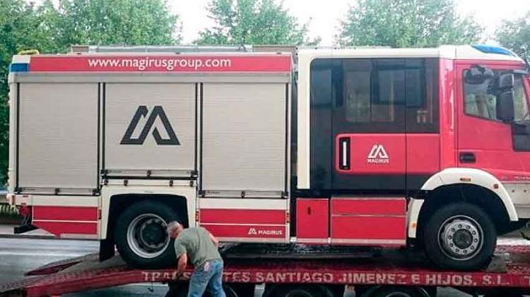 Llegan a León los primeros camiones de bomberos para los parques