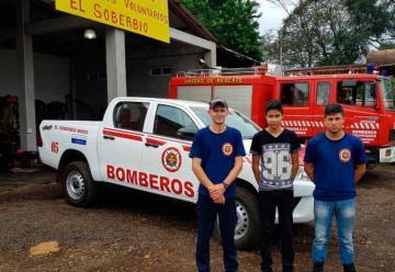 Bomberos de El Soberbio tienen una nueva unidad