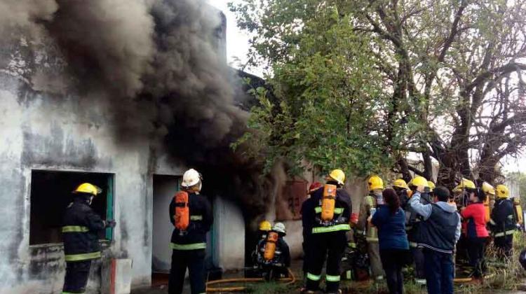 Curso de Incendios Estructurales en San Luis