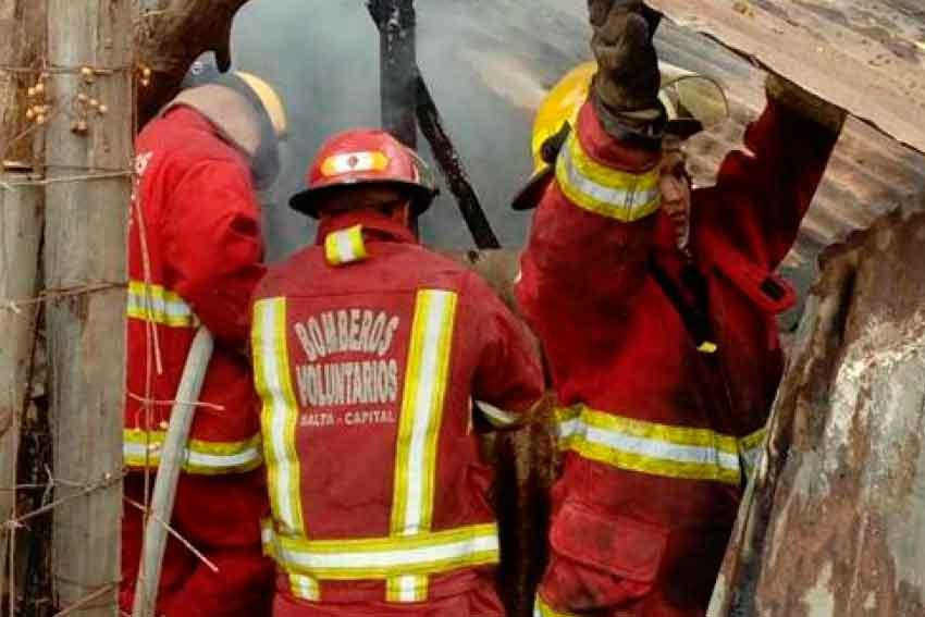 Los Bomberos voluntarios son victimas deagresiones
