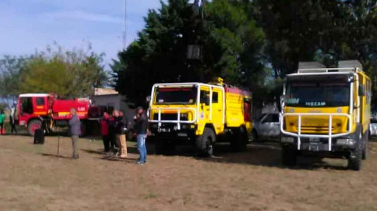 Entregaron nueva autobomba para Bomberos Voluntarios deJacinto Aráuz