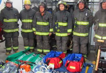 Equipamiento para tres nuevas compañías de bomberos