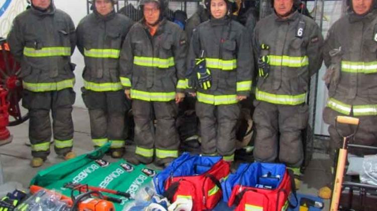 Equipamiento para tres nuevas compañías de bomberos de San Clemente