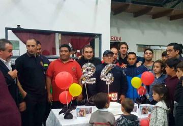 Bomberos de El Dique celebraron su 24 aniversario