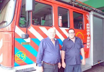 Bomberos de Berazategui bajaron intensidad de la sirena