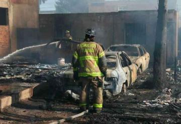 Protestan bomberos por falta de equipo para emergencias