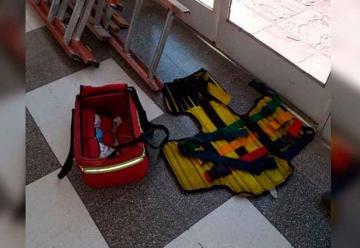 Recuperan elementos que fueron robados a bomberos
