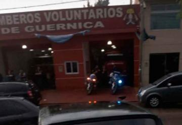Allanan el cuartel de bomberos de Guernica tras las denuncias