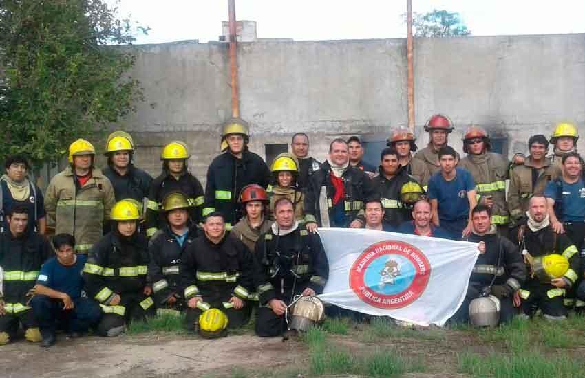 Curso de Incendios Estructurales de la ANB en San Luis
