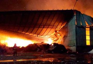 Gran Incendio en una algodonera en Avellaneda