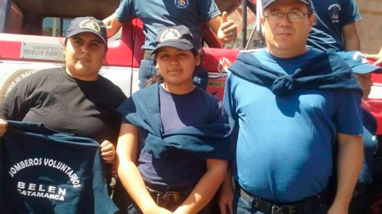 Bomberos Voluntarios de Belén cumplió un año de vida