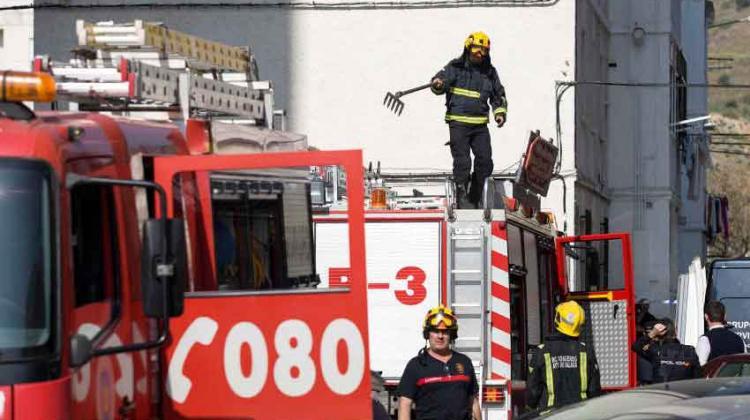 Un bombero de Béjar muere al sofocar un incendio