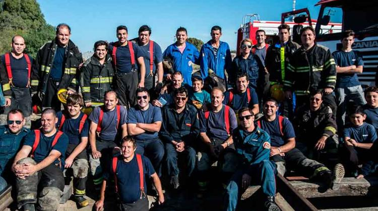 Comenzaron las capacitaciones de los bomberos voluntarios