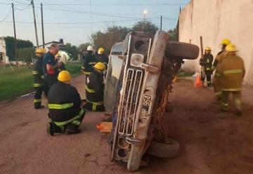 Bomberos de Santiago del Estero se capacitan en Añatuya