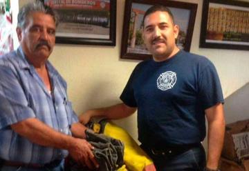 Bomberos de Ocampo reciben donación de equipo
