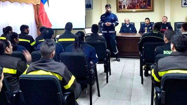 Escuela de Bomberos de Temuco comenzó su primer semestre de clases