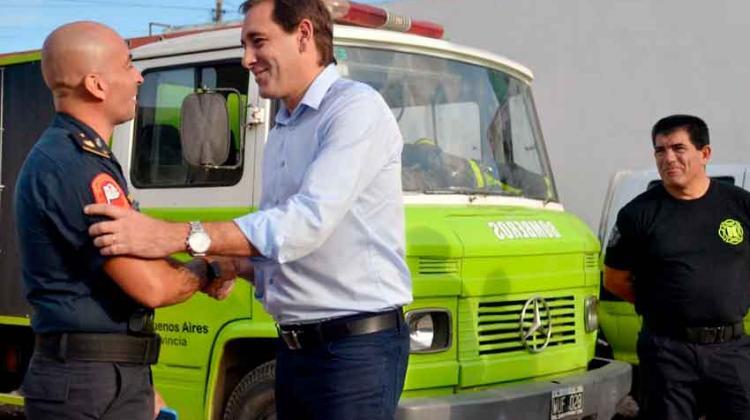 Romero ya cuenta con su propio cuartel de bomberos