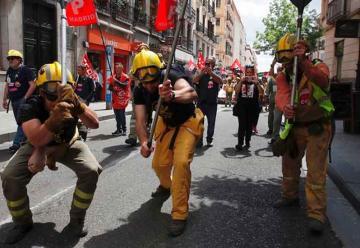 Forestales salen a la calle para pedir la regulación de su profesión