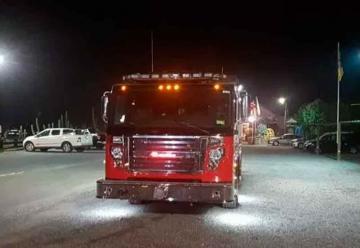 Nuevo y Moderno carro de Bomberos llegó a Puerto Montt