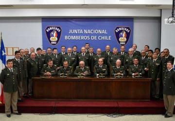 Autoridades bomberiles se reunieron en una nueva Asamblea Nacional