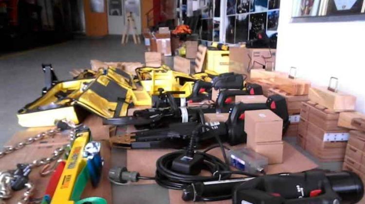 Bomberos de Trenque Lauquen presentó equipos para rescate