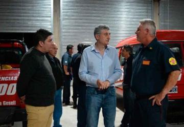 Bomberos Voluntarios de Villa Gesell inauguró nuevo cuartel