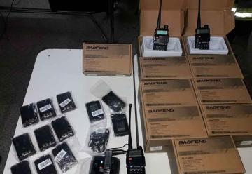 Bomberos de Arroyito adquirió equipos de comunicación