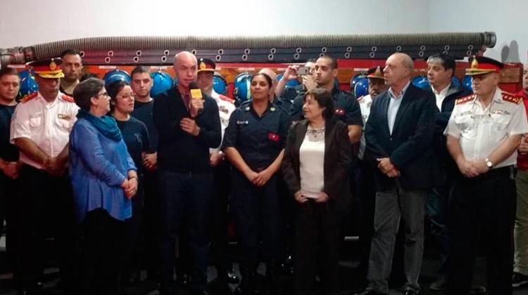 Suman a los Bomberos Voluntarios a la obra social de la Ciudad