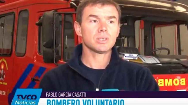 Bomberos de General Pico se capacitaron en Colombia