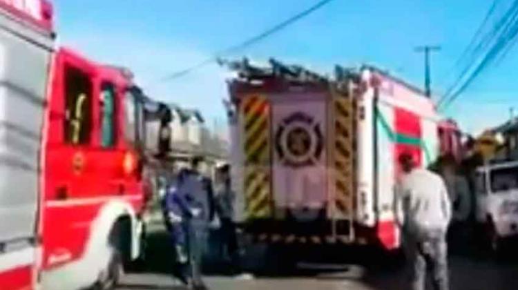 Carros de bomberos colisionaron tras acudir a emergencia