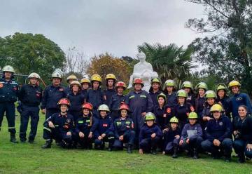 Con varias actividades celebraron el Día Nacional del Bombero Voluntario